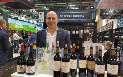 Bodegas Corral presentes en Prowein Alemania y Asia promoviendo Rioja