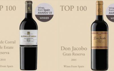 Nuestros vinos entre los top 100 de los mejores vinos de españa
