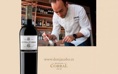 El cocinero logroñés Alex García marida sus platos con Bodegas Corral en un taller con Degusta La Rioja