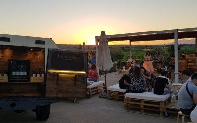 Conciertos al aire libre y Djs los fines de semana de verano en la terraza de Bodegas Corral