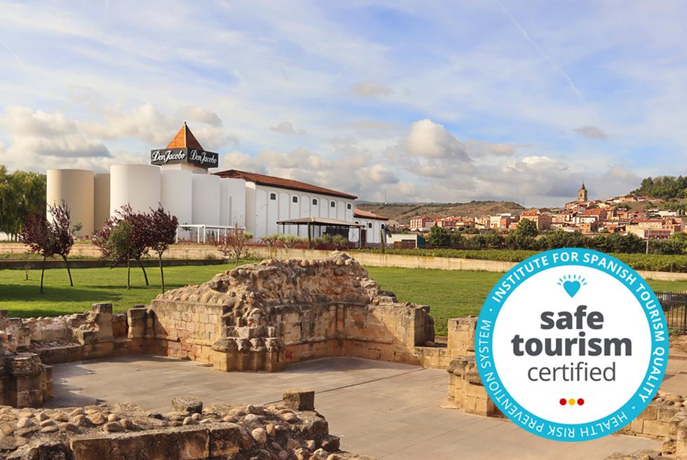 Bodegas Corral certificada con el sello 'Safe Tourism' – Enoturismo seguro