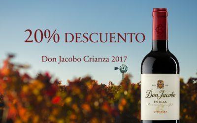 Nueva añada Don Jacobo Crianza 2017